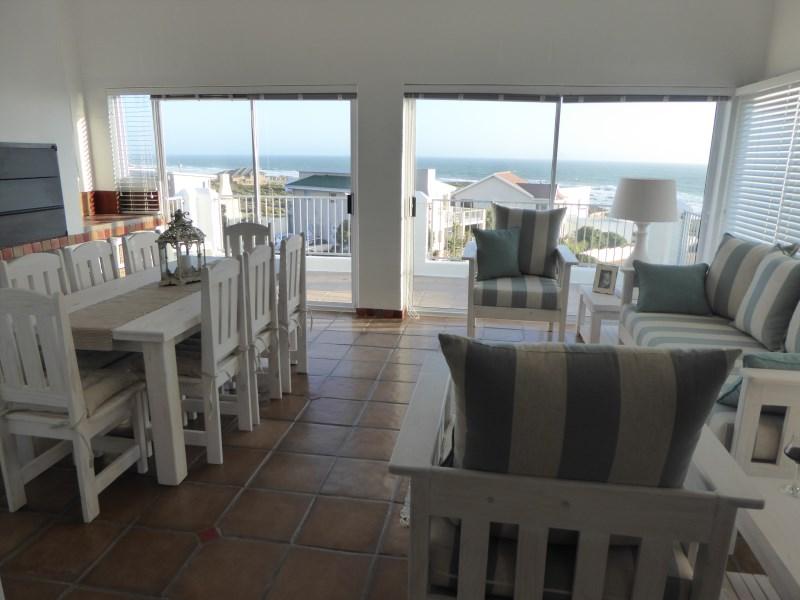 Indoor Braai & Living Area